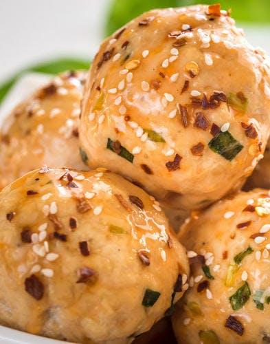Brochettes de poulet à la japonaise*