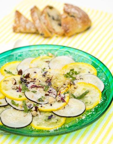 Carpaccio de légumes
