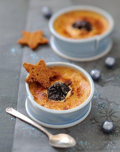 Crème caramélisée aux pruneaux