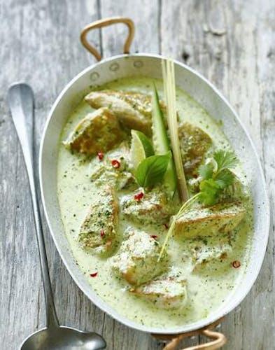 Curry de poulet thaïlandais