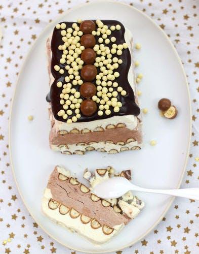 Vacherin choco-vanille pour les enfants