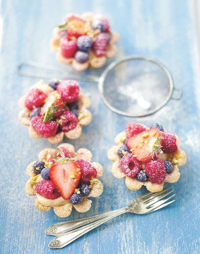 minitartelettes aux fruits rouges