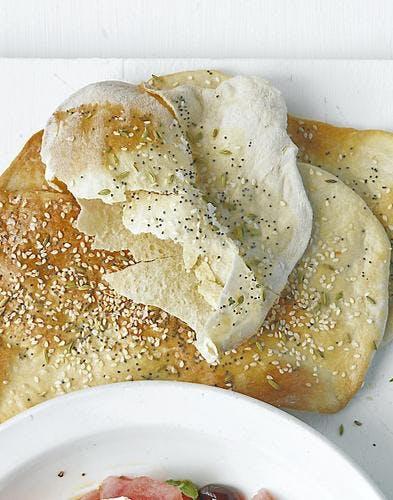 pain croustillant aux graines