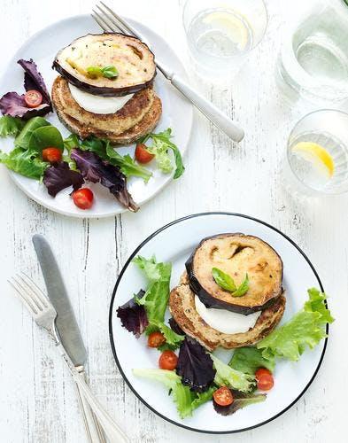 burgers boulgour-aubergine