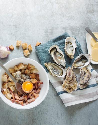 Farce huîtres et céleri
