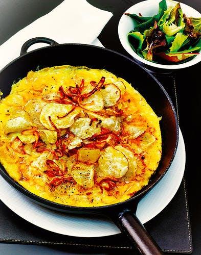 Omelette aux chips d'Eric Frechon