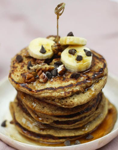 Pancakes aux flocons d'avoine