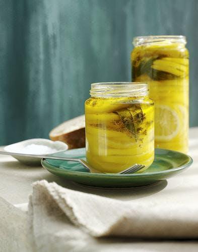 Citrons à l'huile d'olive