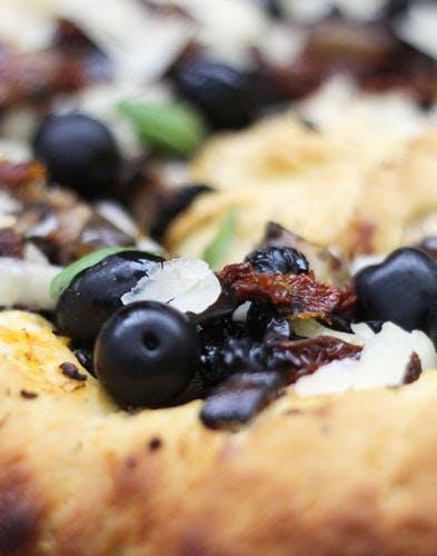 Pizza torsadée