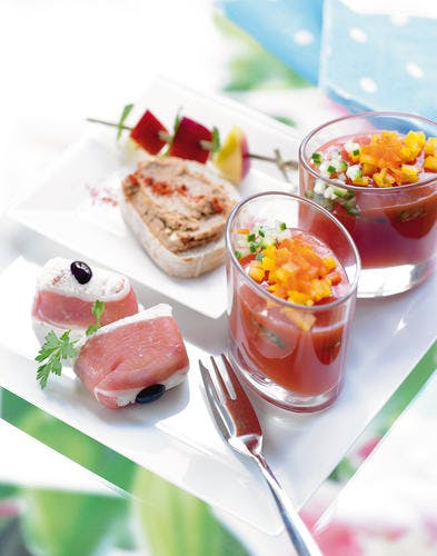 Gaspacho en terrine