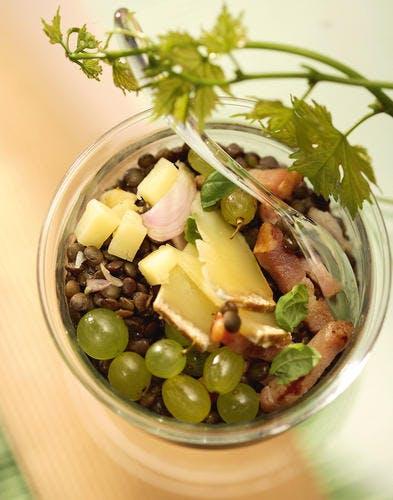 Salade aux trois AOC