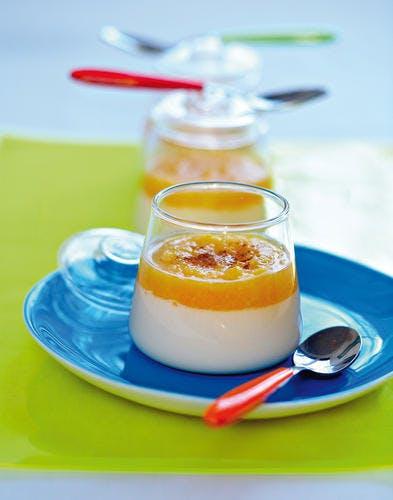 Yaourt grec au lait d'amande et à l'orange