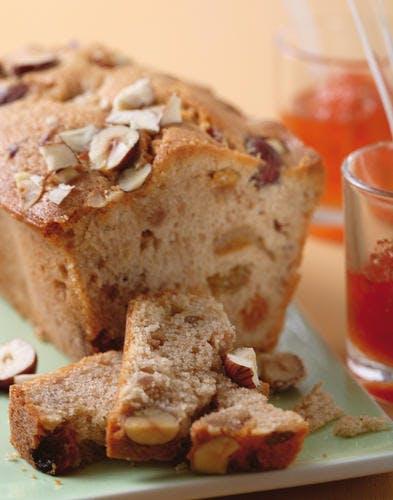 Cake châtaigne-noisette