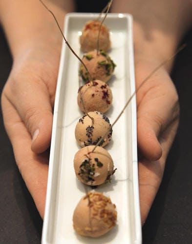 Truffes de foie gras