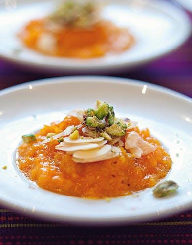 Halwa aux carottes