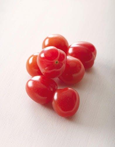 tomates cerise rouges