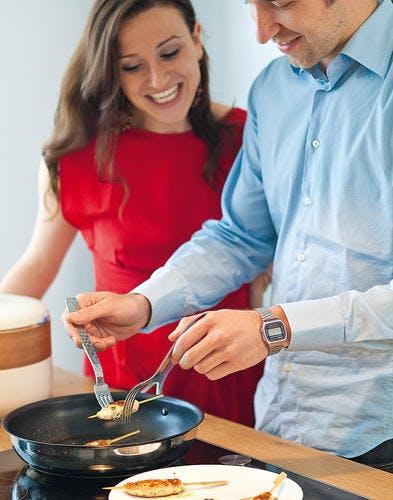 brochettes cuisson