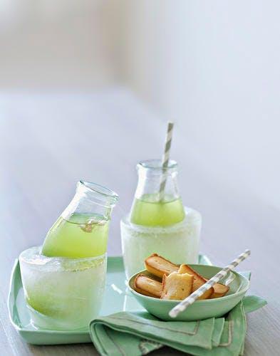 Thé vert à la citronnelle et au gingembre