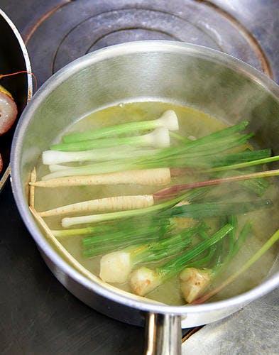 cuisson légumes