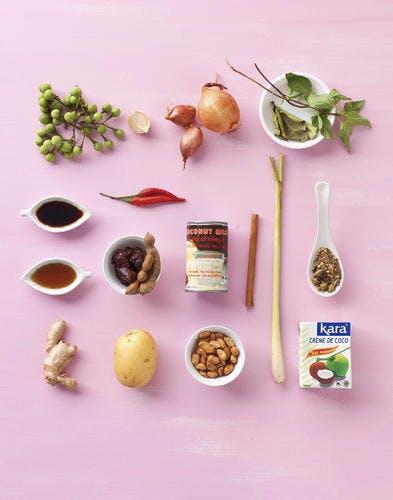ingredients massaman