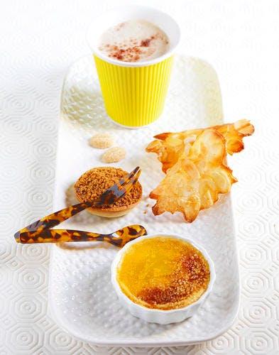 Tartelettes à la crème de spéculoos