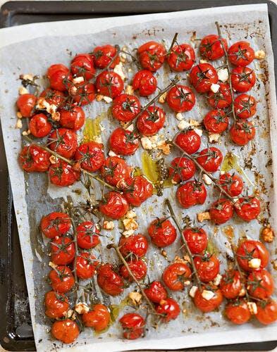 Tomates confites à la feta
