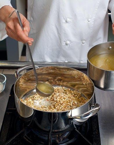 cuisson risotto
