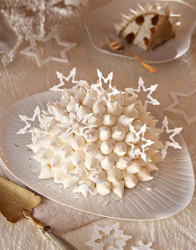 Gateau noel meringue
