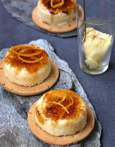 Tartelettes à la brousse de brebis