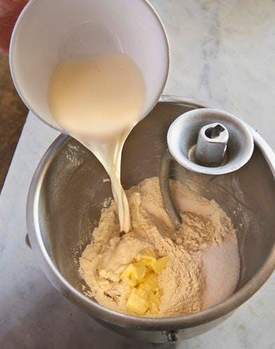 Pâte à baba ingrédients
