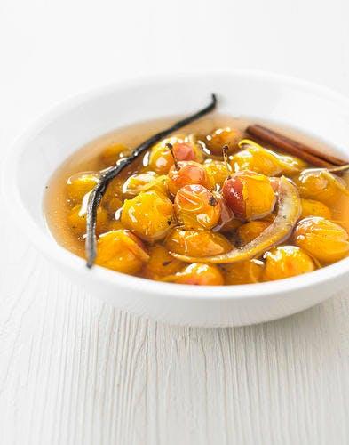 Soupe de mirabelles aux épices