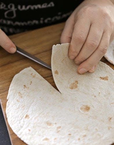 Cornets découpe tortilla