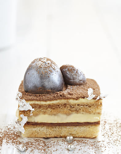 Tiramisus au chocolat croustillant