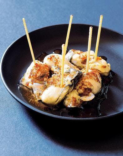 Huîtres beurre noisette