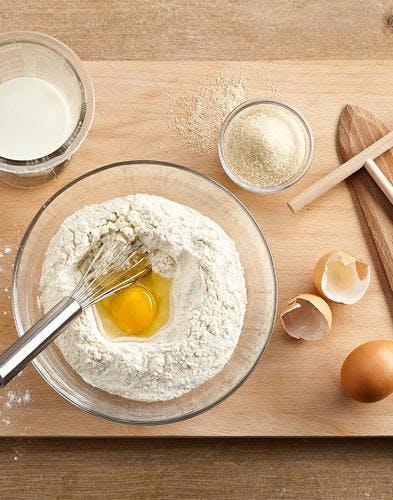 Crêpes miel, butternut et calvados