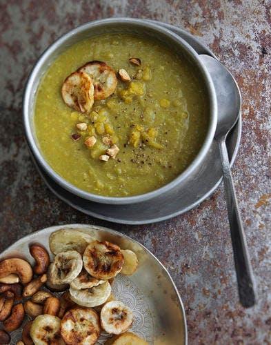 Mulligatawny soup - Soupe tamoule aux lentilles roses