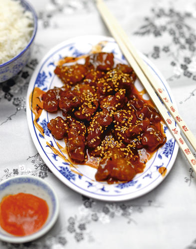 recette chinoise poulet