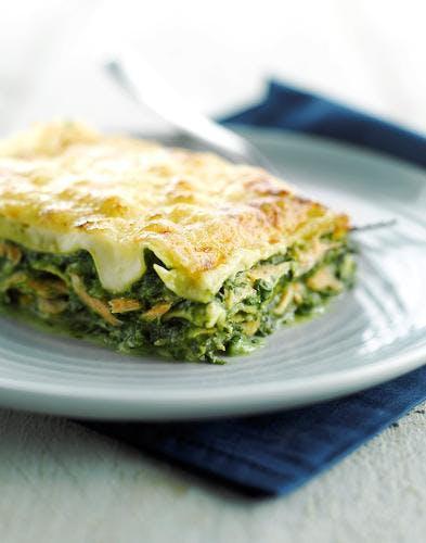 lasagne saumon épinard