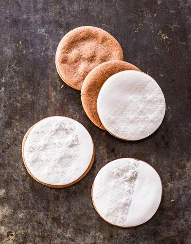 Biscuits sablés de Noël au chocolat