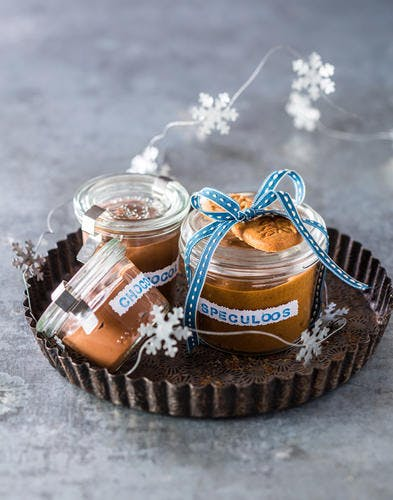 Pâtes à tartiner maison (chocolat et spéculoos)