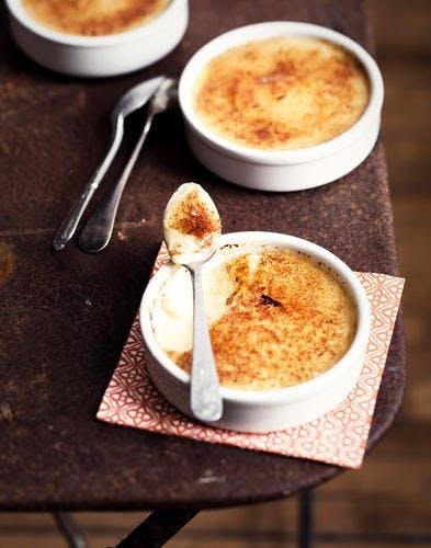 Crème catalane à l'anis