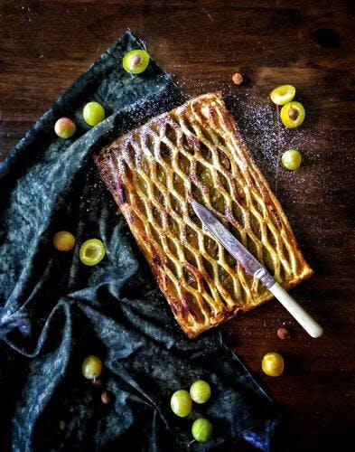 Tourte aux prunes