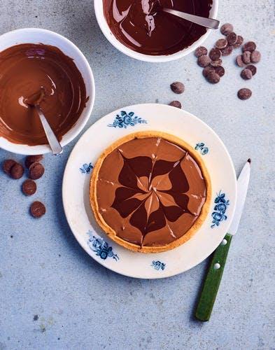Tartelettes aux trois chocolats