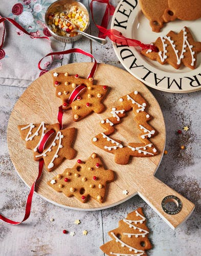 Guirlande de Noël à la cannelle