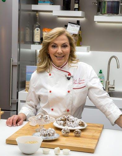 Dina Nicolaou du restaurant Evi Evane (Paris)
