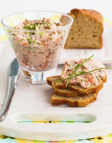 Dînette saumon ciboulette