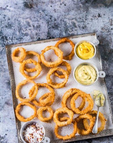 Oignons frits au ghee