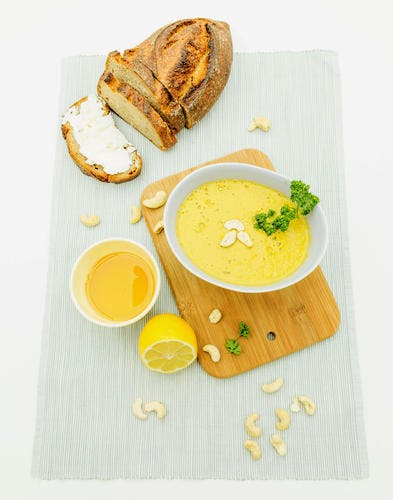 Soupe de légumes express au Vitamix