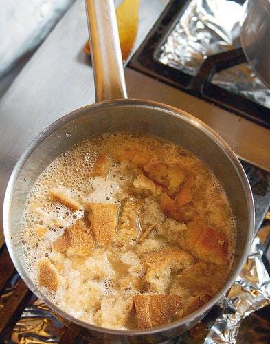 La soupe de pain de maman - étape 4