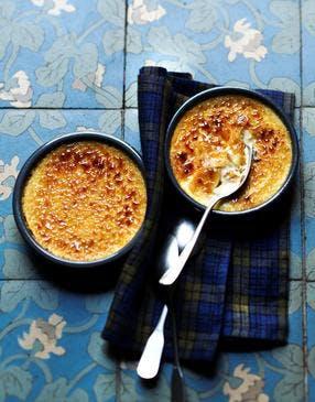 Crèmes brûlées à la tonka